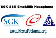 SGK SSK Emeklilik Hesaplama